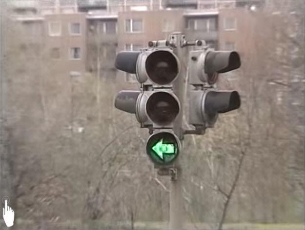 Signál Směrová šipka nebo Směrové šipky | Zelená šipka