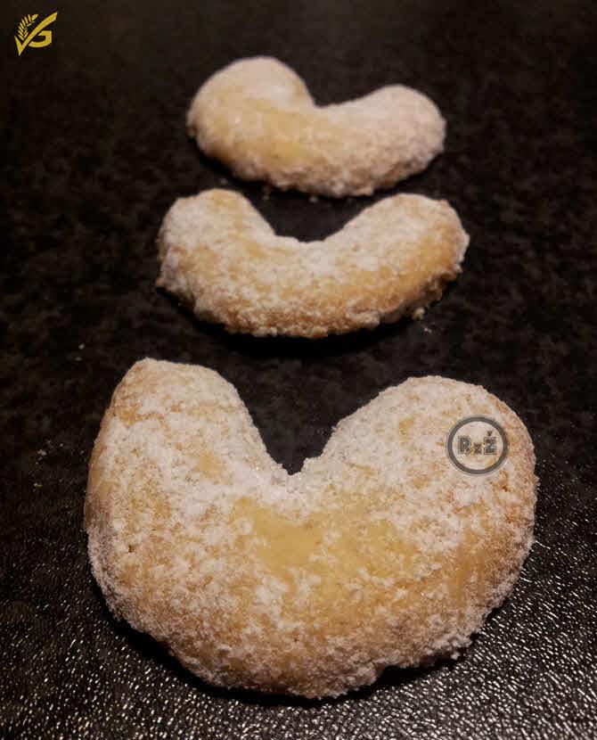 Bezlepkové vanilkové rohlíčky | Bezlepkové recepty