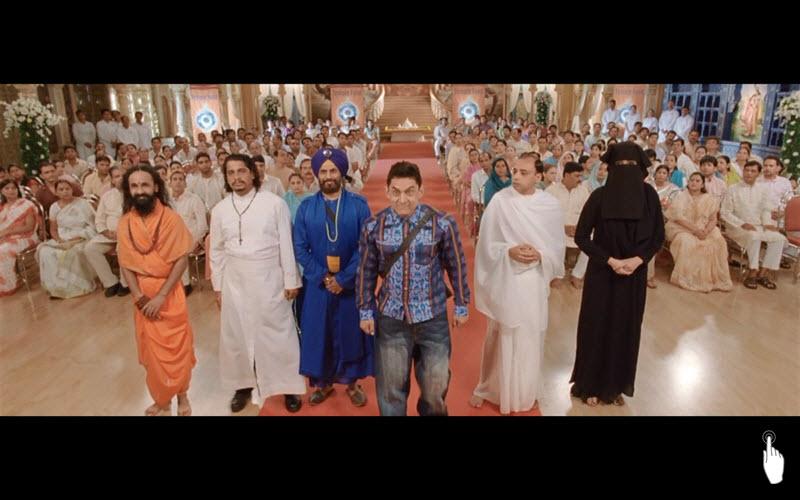 P.K. (2014) | Indie | 153 min | Zdroj: Film P.K. (printscreen)
