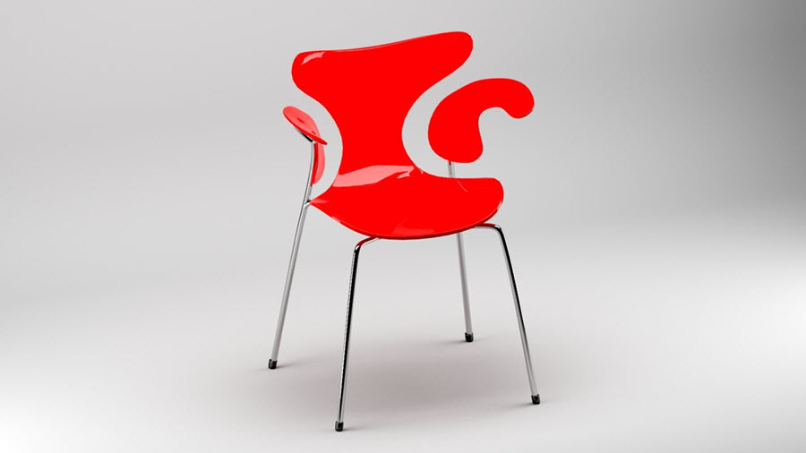 Ochranné podložky na nohy židlí   Udělej sám