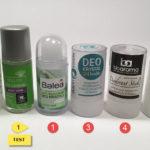 Přírodní deodoranty | Odzkoušené | Příjemnější aplikace | Účinnější | 2.díl