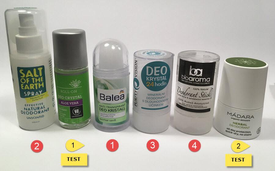 Krystal | Přírodní deodoranty | Antiperspiranty | Zdraví