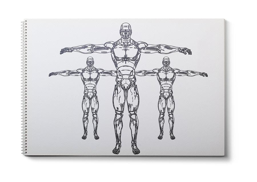 Robot | Umělá inteligence | Rozcestí | Myšlenky | Úvahy