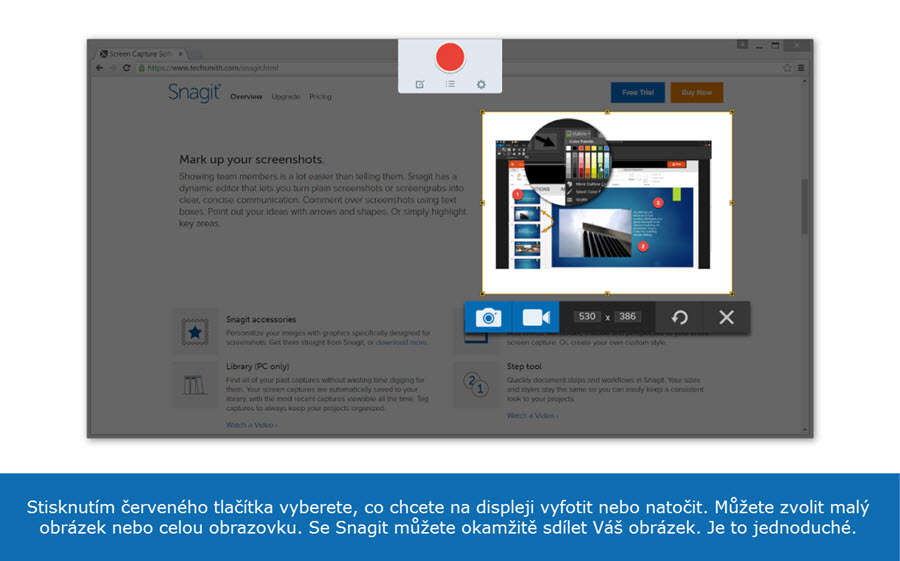 Snímek obrazovky (printscreen) | PC software