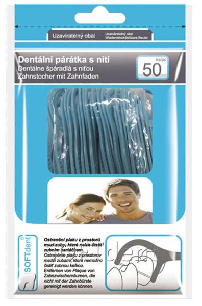 Párátka s nití   Zubní hygiena   Zdraví