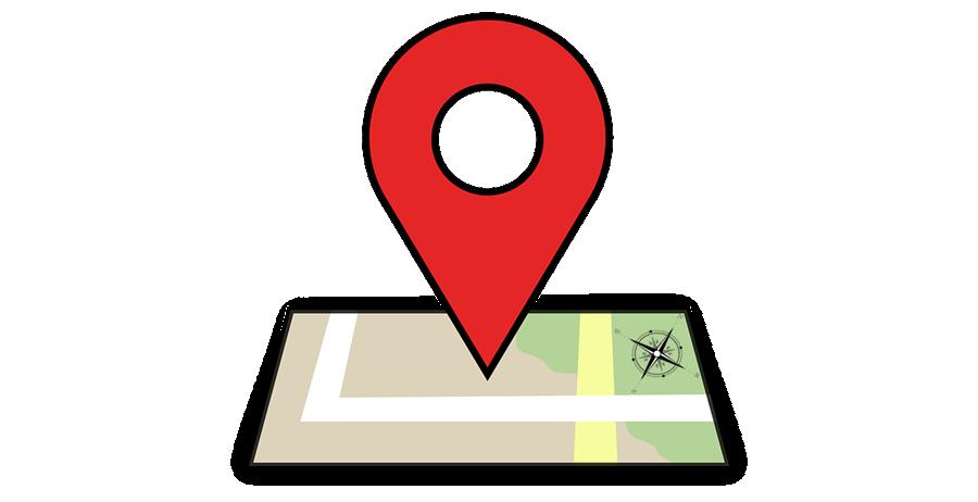 Podrobná mapa stránek